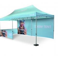 Reklamní nůžkový stan Zoom Tent s tiskem | Print.cz