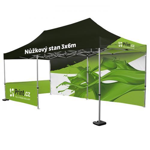 Reklamní nůžkový stan Zoom Tent s tiskem   Print.cz
