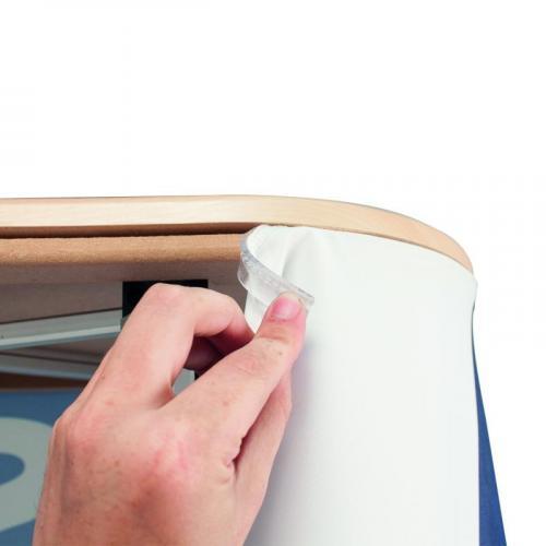 Prezentační promo stolek Pop Up Seg Counter s tiskem | Print.cz