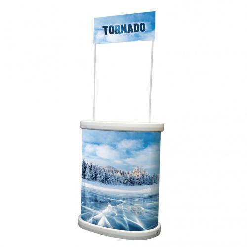Prezentační promo stolek Tornad s tiskem | Print.cz