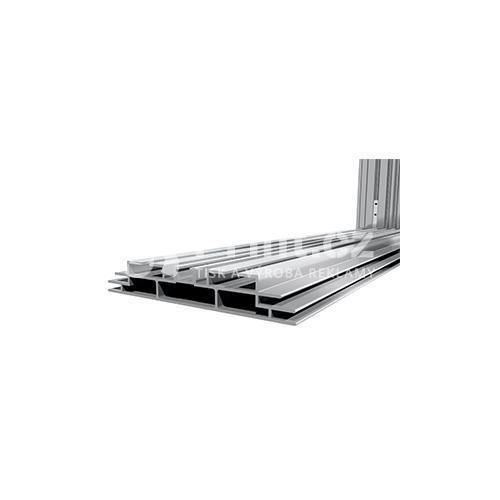 LED box s hliníkovým rámem 125 mm stojící a tiskem