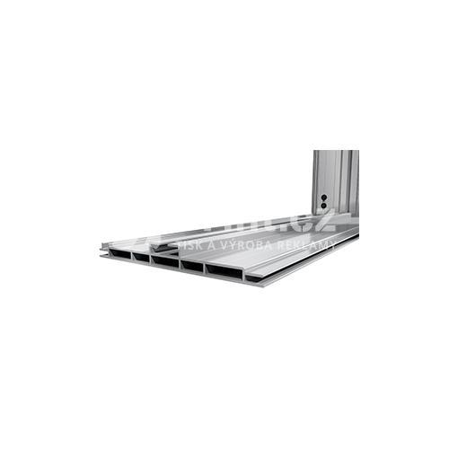 LED box s hliníkovým rámem 150 mm stojící a tiskem