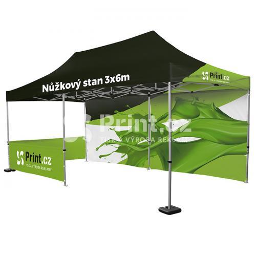 Nůžkový stan Zoom Tent 3x3m s tiskem