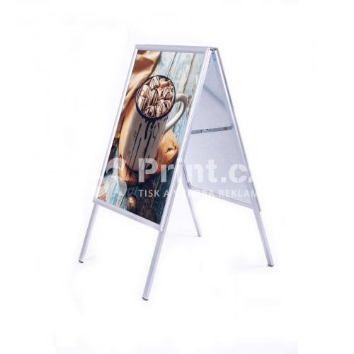 Reklamní A stojan - velikost A1 s tiskem