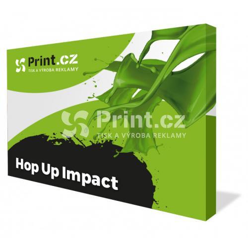 HOP UP stěna IMPACT s tiskem