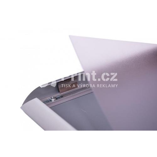 Klip rám A2 s ostrými rohy s tiskem