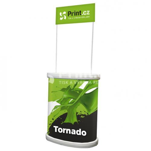Venkovní prezentační stolek Tornado s tiskem