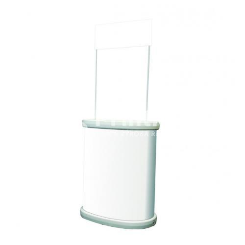 Venkovní prezentační stolek Tornado bez tisku