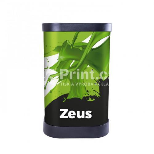 Prezentační stolek Zeus s tiskem