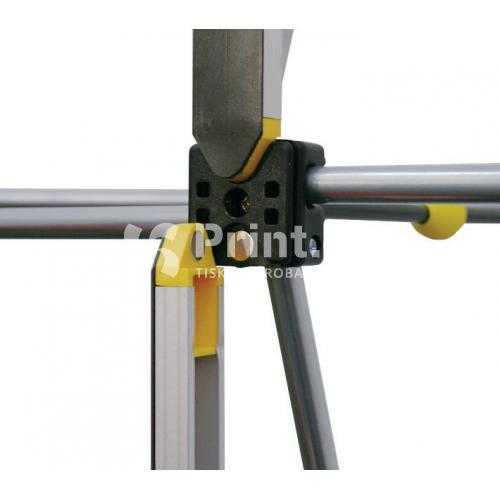 POP UP stěna IMPACT Bundle rovná s tiskem