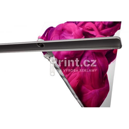 Prezentační textilní stěna Lightweight s tiskem