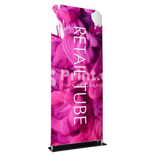 Prezentační textilní stěna Retail s tiskem